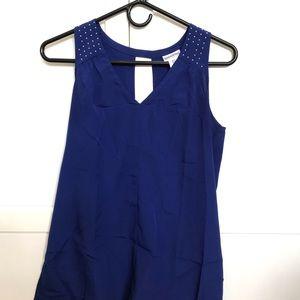 Blue Motherhood blouse size small